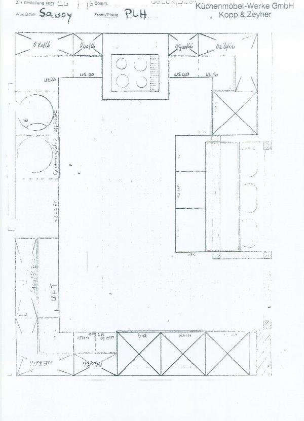 zeyko einbauk che landhausstil sehr gro in heddesheim. Black Bedroom Furniture Sets. Home Design Ideas