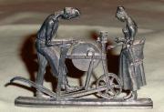 Zinn Miniatur Skulptur