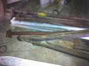 Zugdeichsel für Tieflader