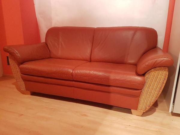 ledercouch gebraucht kaufen nur noch 2 st bis 75 g nstiger. Black Bedroom Furniture Sets. Home Design Ideas