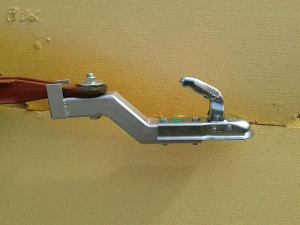 1 5 to schwanenhals adapter zug se kugelkopf bauwagen. Black Bedroom Furniture Sets. Home Design Ideas