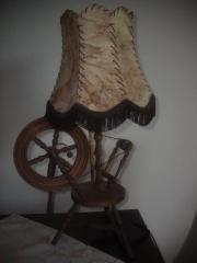 1 antike Lampe