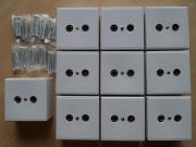 10x NEUE BK Antennendose für