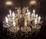Kronleuchter Antik Kerzen ~ Kerzen maria theresia hochblei kristall kronleuchter antik ca