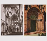 2 Ansichtskarten Gelnhausen Marienkirche