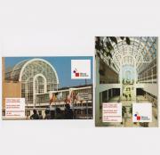 2 Ansichtskarten Messe Frankfurt