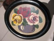 2 Gobelinbilder Gobelin Bilder Stickerei