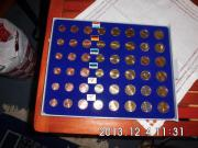 2 Kursmünzen Sätze Zypern 2008