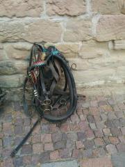 2 Spänner Geschirre f Pferde