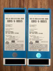 2 Tickets - Guns