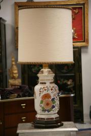 2 x Stehlampe dreiflammig Tischlampe Landhaus Stilmöbel Shabby alt gebraucht kaufen  Marbach