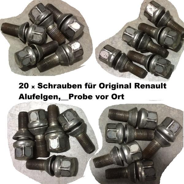 20 x Radschrauben * » Sommer 195 - 295