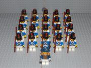 21 Minifiguren Blauröcke
