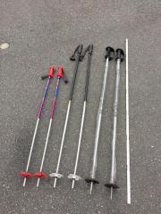 2x 2 Paar Ski Stöcke