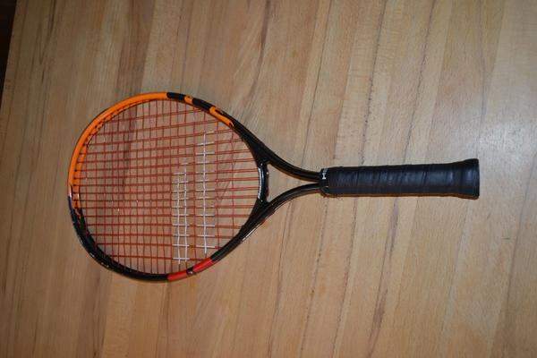 2x Kids Tennisschläger - Eckental - sehr gut erhaltene 2x Tennisschläger, Gr. 23, Babolat und Head (Andy Murray). Auch einzeln verkaufbar, je 15.-, inkl. Hülle - Eckental