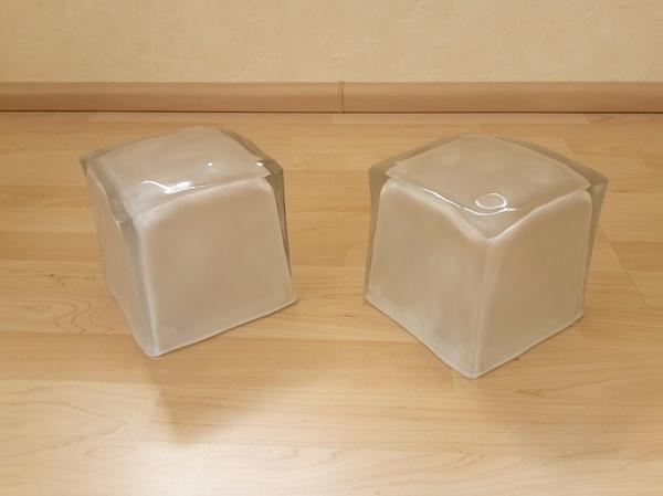 Möbel Wiesloch 2x tischle würfel le eiswürfel le stehle würfelle eiswürfelle cube le
