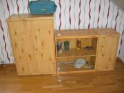 3 Kieferschränke Vitrine Kinderzimmer