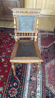 4 antike Gründerzeitstühle