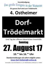 4. Ostheimer Dorftrödelmarkt