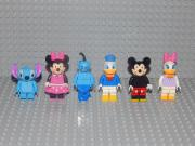 6 Disney Minifiguren