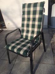 6 Gartenstühle mit