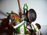 6 Spielzeugritter zu verkaufen