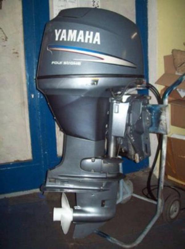 60 PS Yamaha 4-Takt AB Motor - Ehingen - 60 PS Yamaha 4-Takt AußenbordmotorLangschaftE-StartPowertrimmBaujahr 2003Der Motor läuft natürlich einwandfrei und wurde immer regelmäßig gewartet.Inspektion mit allen Ölwechseln im April 2012!Inclusive originaler, neuer Yamaha Einhebelfer - Ehingen