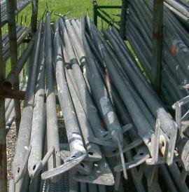 Handwerk, gewerblich - 68 m² gebrauchtes Gerüst Layher