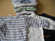 9 T-Shirts Langarm Gr 62