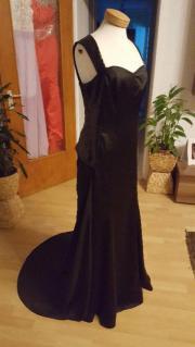 Abendkleid schwarz Gr.