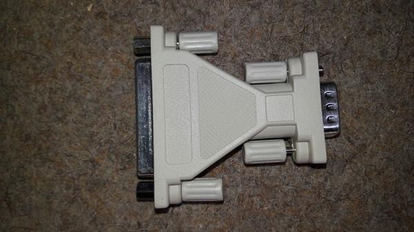 Adapter D-Sub-Buchse 25 pol an