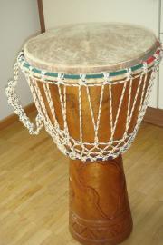 Afrikanische Trommel mit