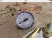 Afriso Heizungsmanometer radial