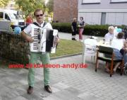 Akkordeonspieler in Münster,