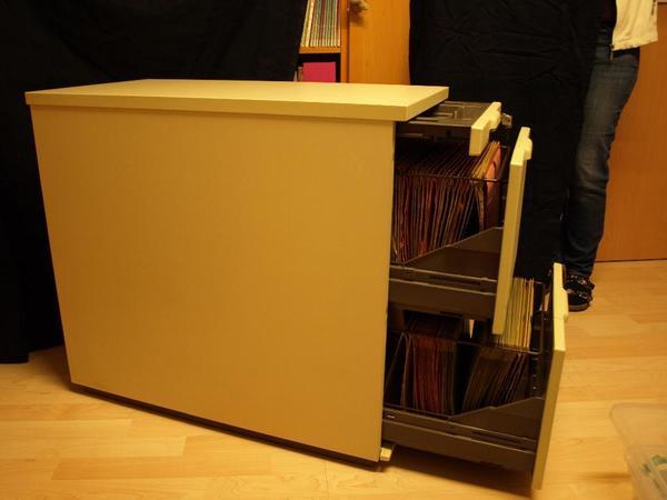 aktenschrank h ngeregister abschlie bar. Black Bedroom Furniture Sets. Home Design Ideas