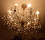 Alter Kronleuchter Kristalllüster Lampe Lüster