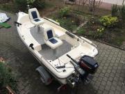 Angelboot, Motorboot, 15PS