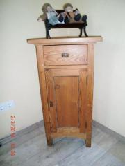 Antike Gründerzeit-Kommode -Schränkchen 1 Tür