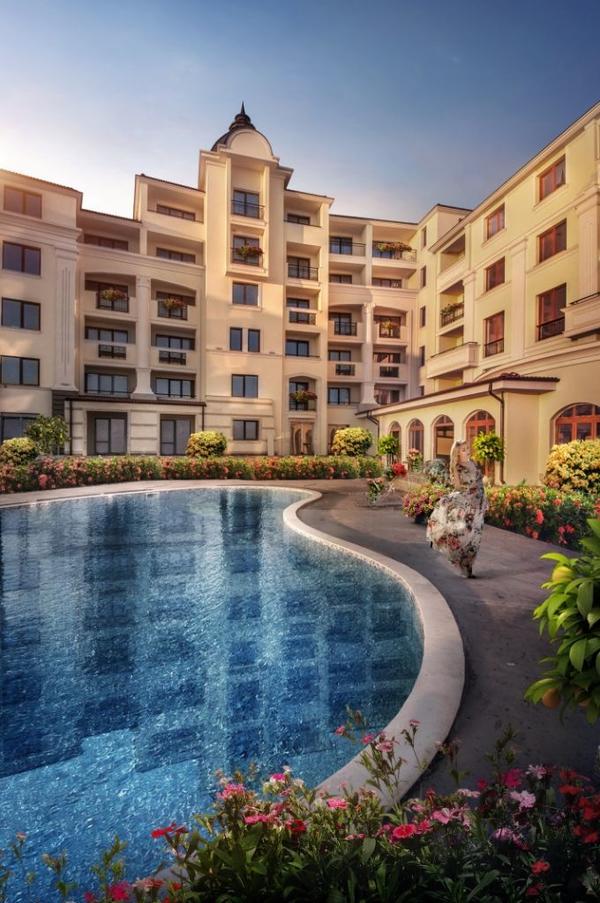 Apartaments am Meer Balchik Bulgarien