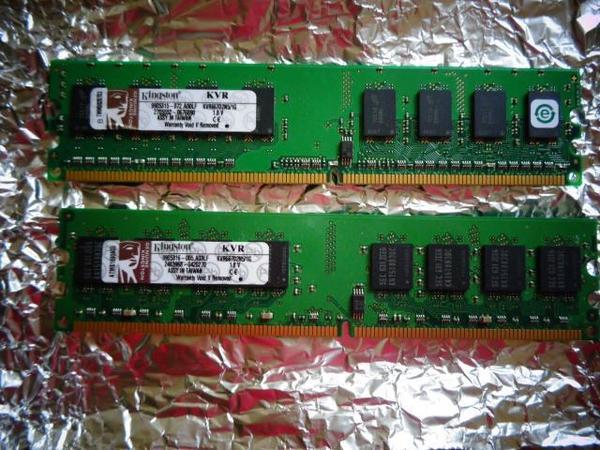 Arbeitsspeicher Kingston DDR2 PC667 Set