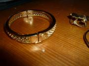 Armband - Ketten Ringe Hundetreppe neu