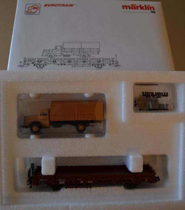 Artikel-Nr 46943 Märklin H0 Flachwagen