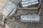 Auspuffanlage mercedes W219/