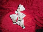 Badminton Naturfederbälle