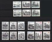 Berlin-Briefmarken aus
