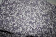 Bettbezug fliederfarben gemustert
