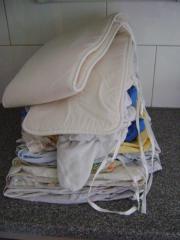 Bettwäsche für Gitterbett