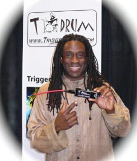 Drums, Percussion, Orff - Black Pro Trigger Tom