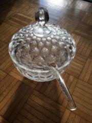 Bowleset Bleikristall mit Kelle Topzustand