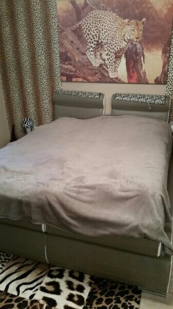 boxspring bett 180 gebraucht kaufen 4 st bis 60 g nstiger. Black Bedroom Furniture Sets. Home Design Ideas
